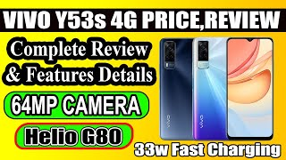 VIVO Y53S 4G Complete Review Of Specs | Price In Pakistan ,Helio G80 , 64MP Camera