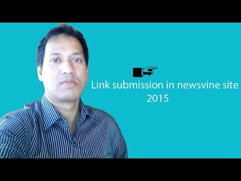 Link submission in newsvine site