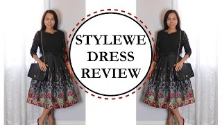 STYLEWE Dress Review, SPECIAL OCCASION DRESS, HOMECOMING DRESS