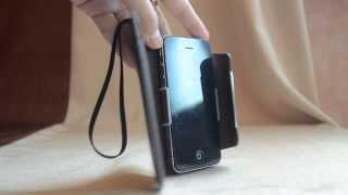 Чехол Iphone 4 4s клатч визитниза чехол черный Kalaideng Черный с сайта www.ichehol.com.ua