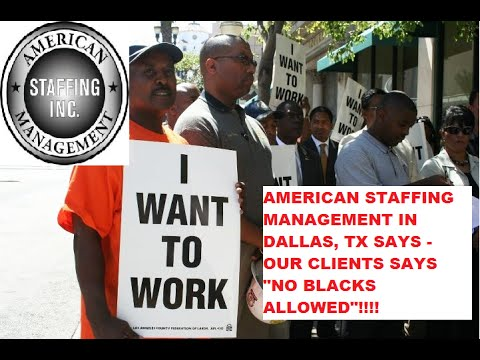 Racism, Employment Discrimination Of Black Workers Dallas TX