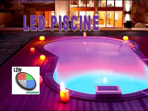 ampoule led piscine rgb acheter vos ampoules youtube. Black Bedroom Furniture Sets. Home Design Ideas
