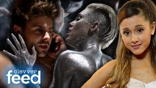 Zac Efron & Miley Cyrus Get Naked, Katy Perry Loves Ariana Grande & Weird Celebrity Fears