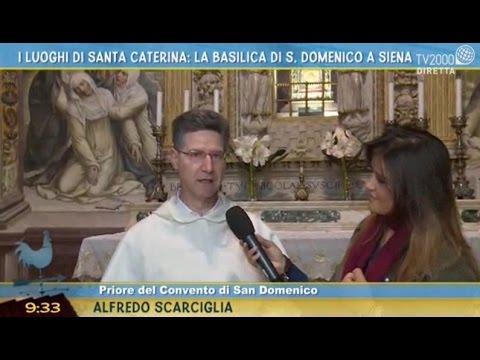 I luoghi di Santa Caterina: la Basilica di S. Domenico a Siena