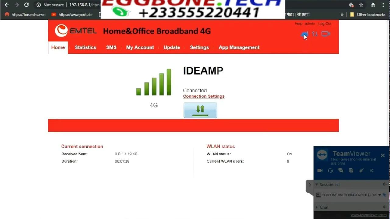 Free Unlock Airtel Huawei B310S-927 Router - EGGBONE UNLOCKING GROUP