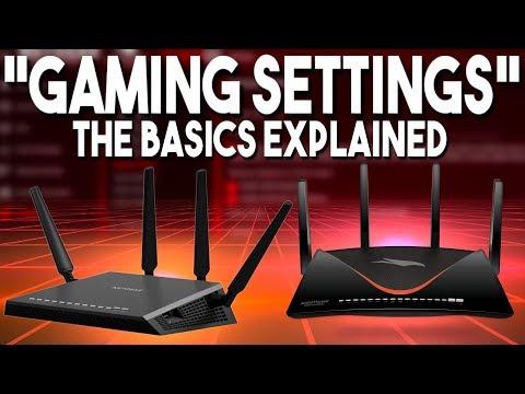 Explaining Router Settings for Gaming: The Basics