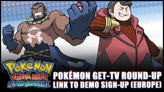 pokmon omega ruby and alpha sapphire news demo registration websites pokmon get tv round up
