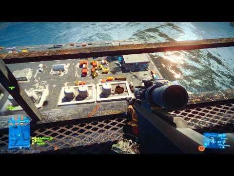 Battlefield 3 - Dupla de sniper rulando em Kharg Island