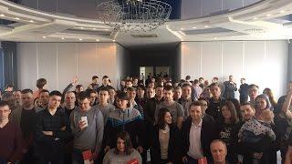 Вступительное слово Волкова на открытие штаба Навального/Хабаровск (13.05.2017)