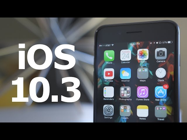 Everything New in iOS 10.3 Beta 1!