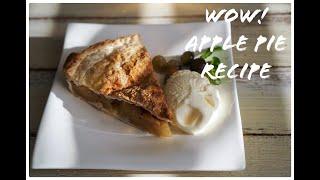 How to make apple pie like a cafe shh!! it&#39s a secret recipe
