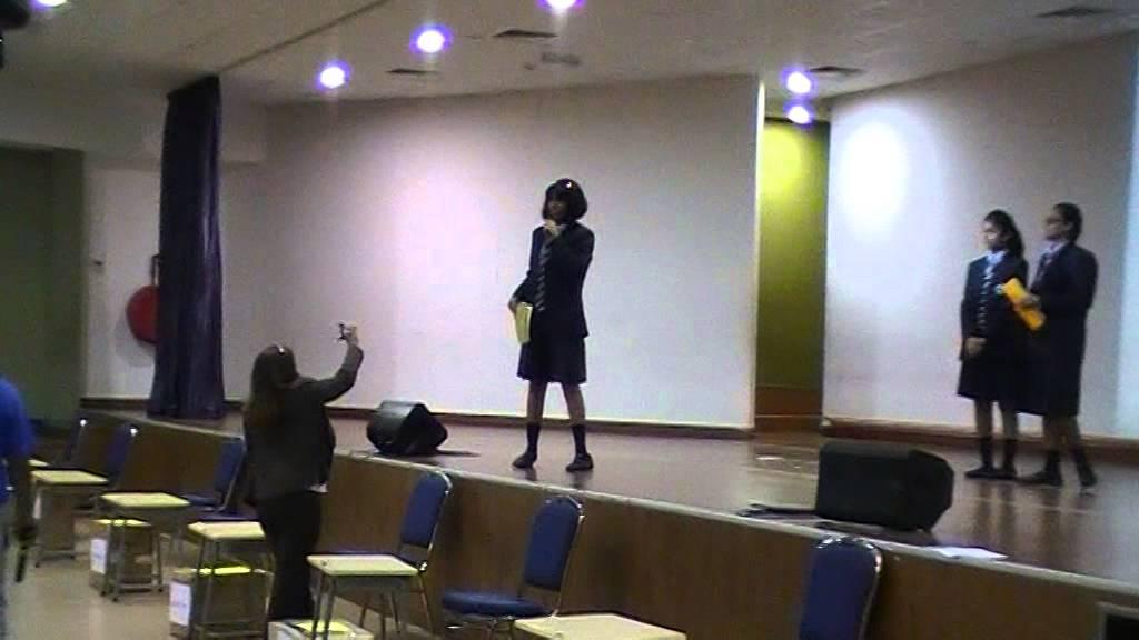 Priyanka Suresh Headgirl 2014 Election Speech - YouTube