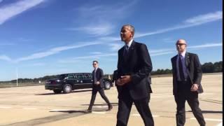 فن و منوعات  بالفيديو.. لماذا يخلع أوباما خاتم زواجه قبل مصافحة العامة؟