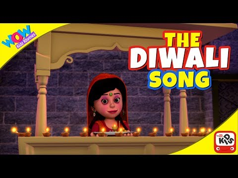 Sing the DIWALI SONG with Motu Patlu I Animated Nursery Songs by Wow Kidz Rhymes
