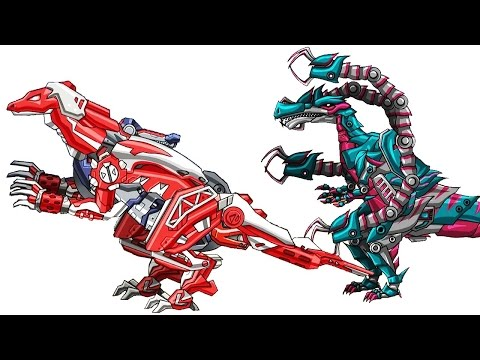 Repair! Dino Robot Fight Gameplay: Dinosaurs Games - Compsognathus (4 Color Armors) | SMG
