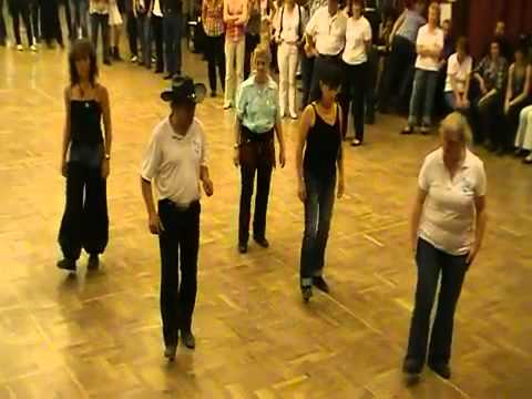 Floor of Flames Line dance by Glynn Rodgers