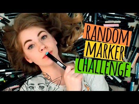 Wyzwanie losowych markerów ★ Random marker challenge