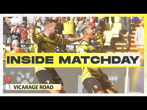 WILD fans and celebrations are back!  |  Inside Matchday |  Watford 3-2 Aston Villa