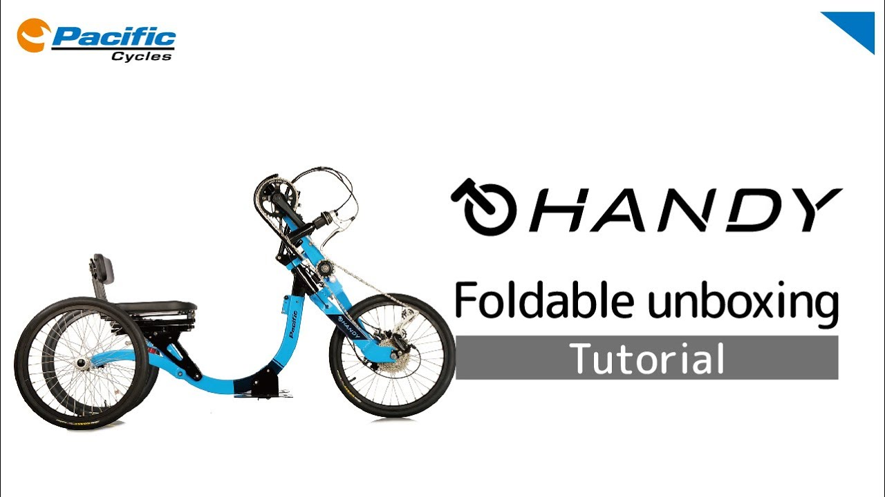 HANDY foldable unboxing
