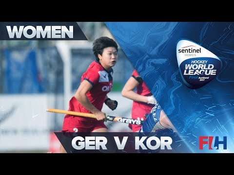 Germany v Korea - Sentinel Homes Hockey World League Final - Auckland, New Zealand