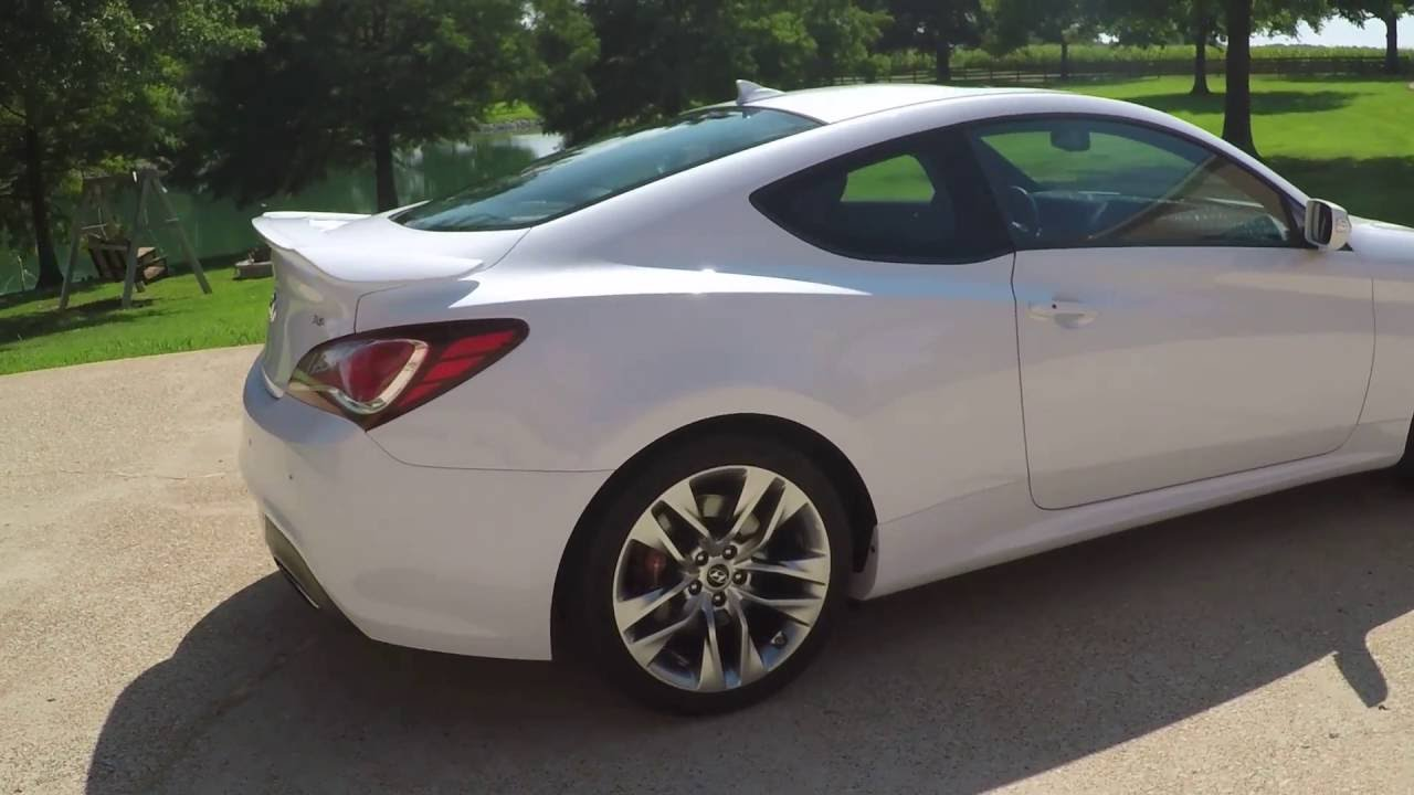 2015 hyundai genesis white. hd video 2015 hyundai genesis ultilmate gt pearl white for sale info www sunsetmotors com hyundai genesis white