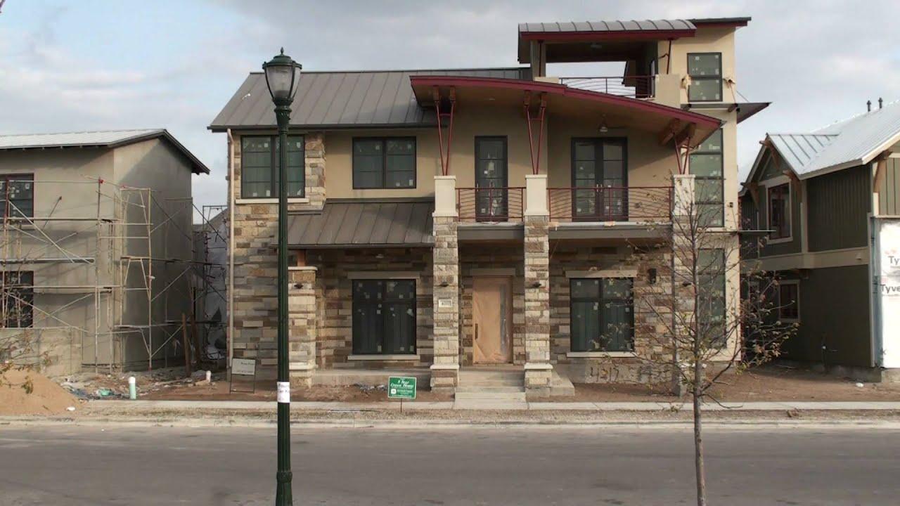 Mueller redevelopment modern contemporary home for sale for Contemporary homes for sale in austin