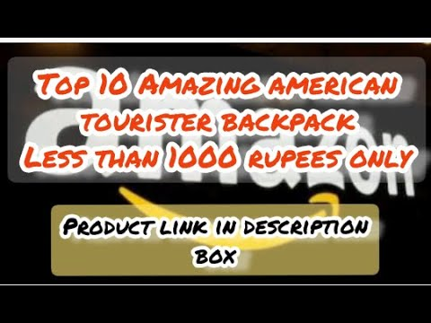 Top 10 Amazing American tourister Backpack at less than 1000 rupees only.