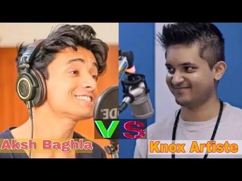 Aksh Baghla vs Knox Artiste | Bollywood Songs Mashup | Singing Compitition
