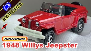 Matchbox - 1948 Willys Jeepster