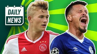 FCB vs. Liverpool! BVB vs. Tottenham! Will Schalke Sandro Wagner? Peter Bosz zu Bayer 04?