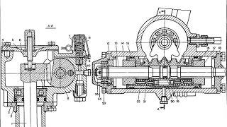 ЛТЗ Т-40. Видео по заявкам №2. ГУР Т-40: неисправности, ремонт.