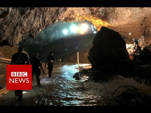 Thailand Cave rescue: 12 boys and their coach are out - BBC News