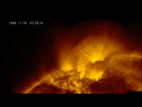 Space Weather - Solar Storms in HiDef