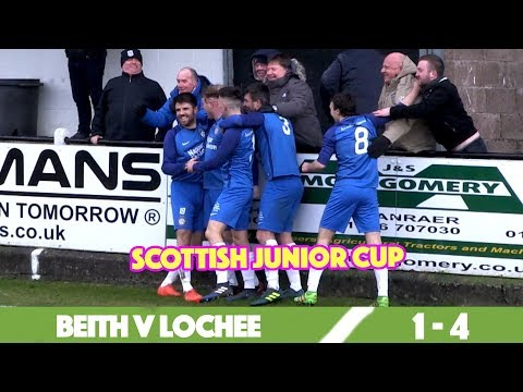 FITBA SHORTS - Beith v Lochee [SCOTTISH JUNIOR CUP]
