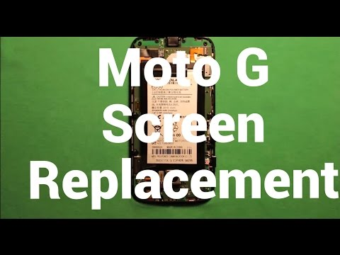 Moto G Screen Replacement Repair How To Change