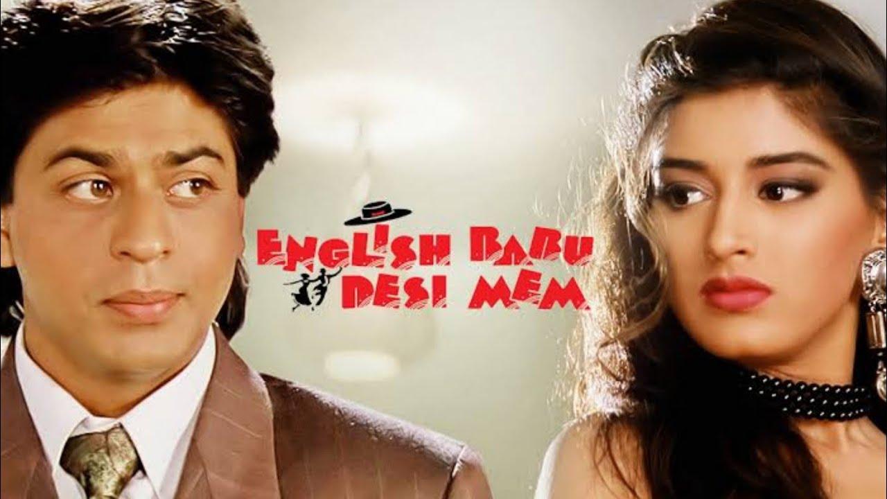 Download Deewana Main Tera Deewana |English Babu Desi Mem(1996 )| Kumar Sanu & Alka Yagnik | Shah Rukh Khan
