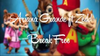 Break Free - Ariana Grande ft Zedd (Chipmunk Version)