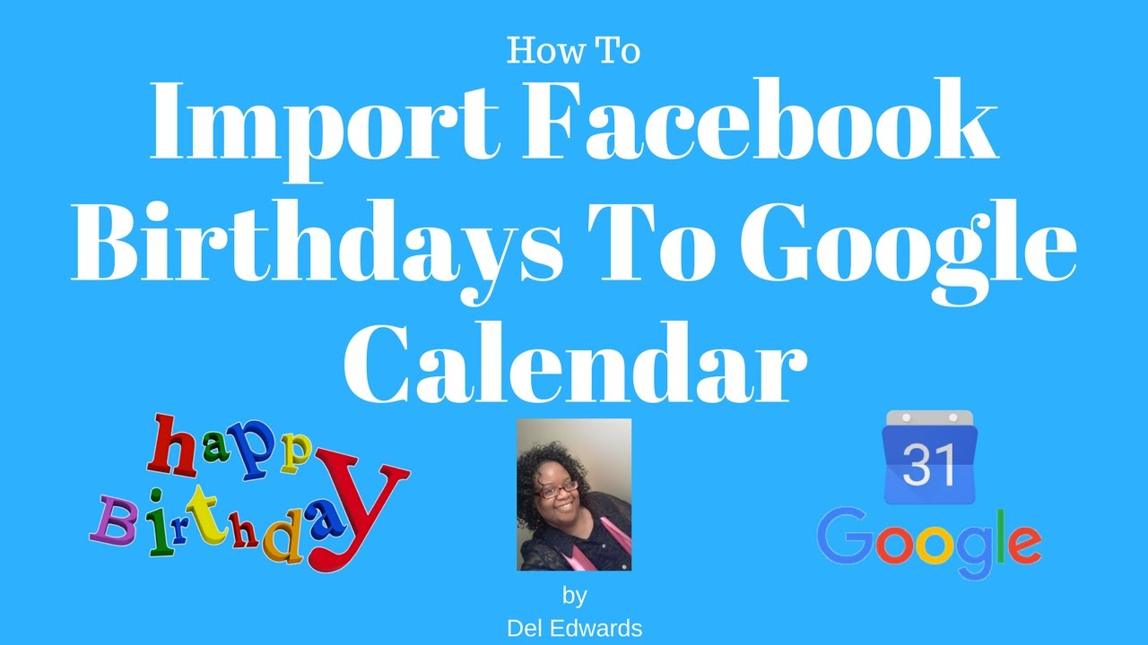 how to make birthdays in google calendar