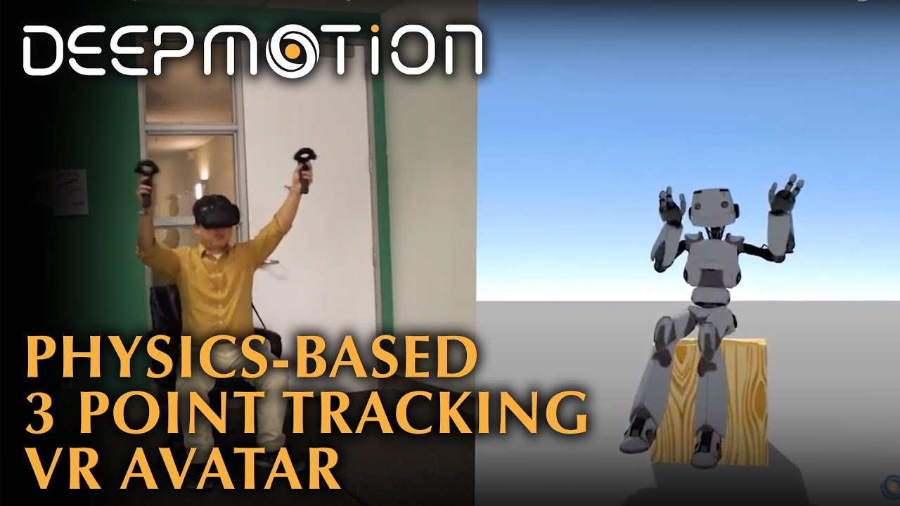How To Make 3 Point Tracked Full-Body Avatars in VR