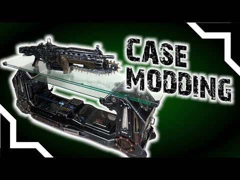 CASE MODDING 🔨 Ali Abbas ▪ The Lancer Unleashed / Gears of War