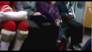Прикол в Ташкентском метро! Funny prank in Subway in Tashkent