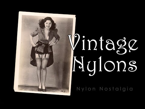 Vintage Nylons - Nylon Stockings at Nylon Nostalgia (2020)