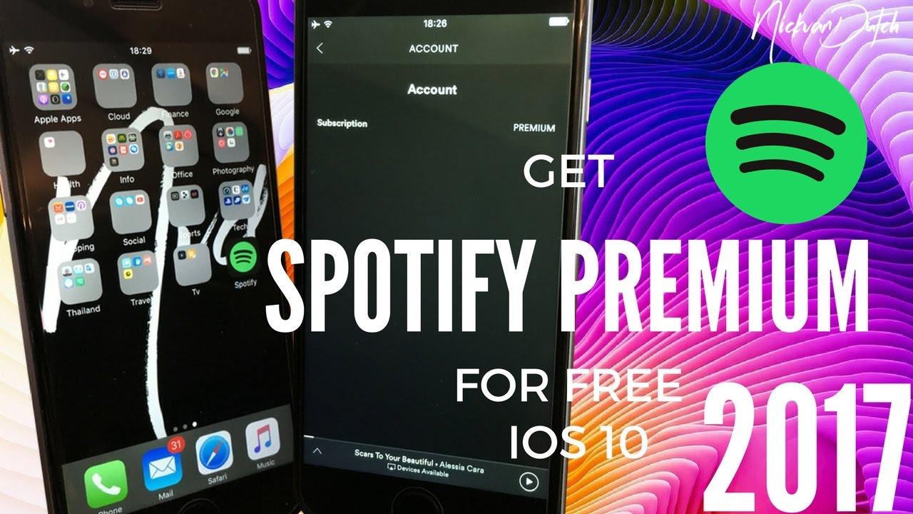 How to get FREE Spotify Premium 6 8 0 NO JAILBREAK! iOS 10 Spotify Hack 2017