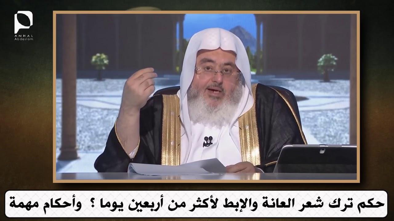 حكم ترك شعر العانة والإبط لأكثر من أربعين يوما وأحكام مهمة للشيخ محمد المنجد Youtube