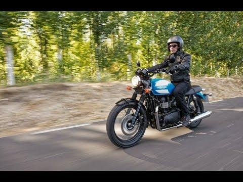 Special Edition Triumph Bonneville Unveiled At The Intermot Fair In