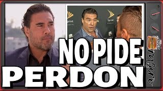 Eduardo Yañez sin trabajo por cachetada no pide perdon