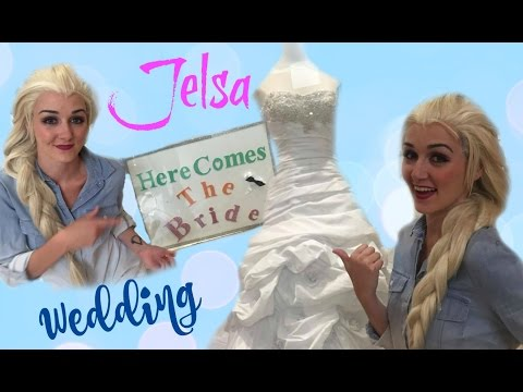 JELSA WEDDING   Elsa shops for her Wedding Dress!