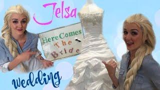 JELSA WEDDING | Elsa shops for her Wedding Dress!