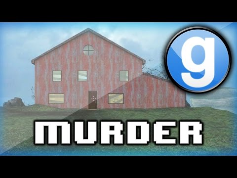 Garry's Mod Murder Funny Moments! - Attic of Death, Science Partners, and Ladder Stalls!