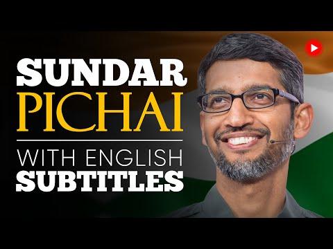 ENGLISH SPEECH   SUNDAR PICHAI: You Will Prevail (English Subtitles)